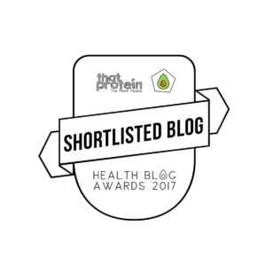 To vote for me as 'Best Fitness Blog' please click the image below!