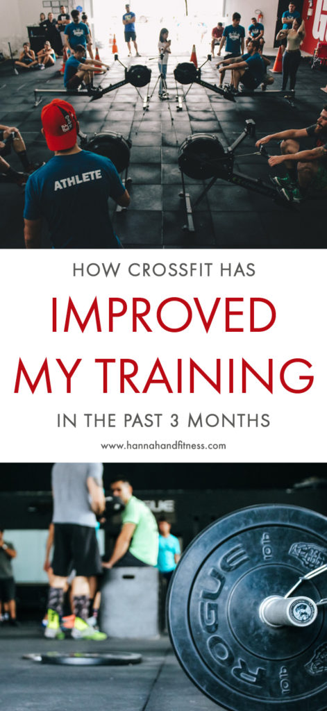 How crossfit has improved my training in the past 3 months. Including progress such as fat loss, muscle gain and running endurance. Interested in CrossFit or want to know more? Have a peek!