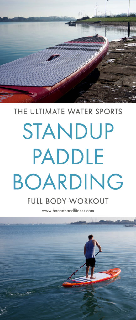SUP - A different kind of fitness. Read all about my first time experience with SUP (Standup paddle boarding) and learn about it's full body workout benefits!