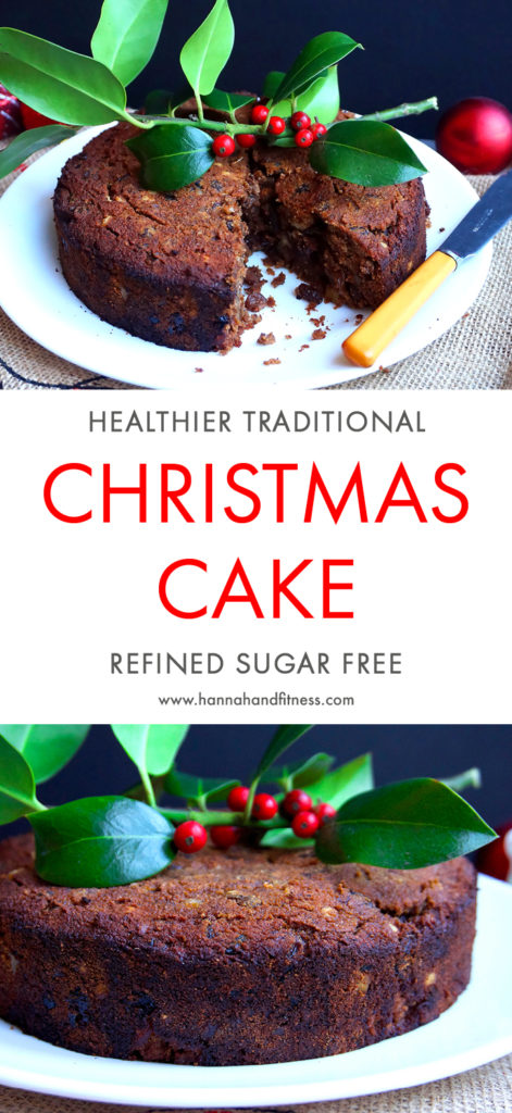 A healthier take on your traditional Christmas cake. This recipe is free from refined sugar and is gluten free, too. However, this recipe certainly doesn't lack on flavour!