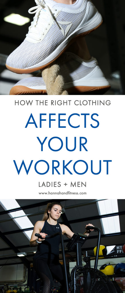 Why and how the right clothing affects your workout. CrossFit, running, weight lifting, swimming, whatever you do it's important to wear the right gear! Featuring The Sports Edit, Under Armour, Adidas and Reebok Nano's 8.0.